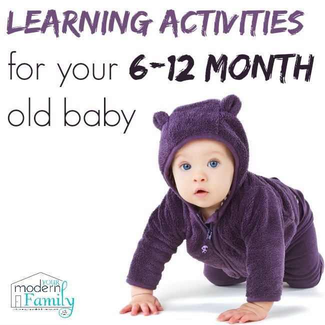 Learning activities for 6-12 month old baby | AD GerberChewU