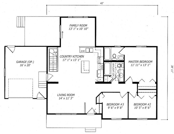 33 best Plans maison images on Pinterest House blueprints, Cottage