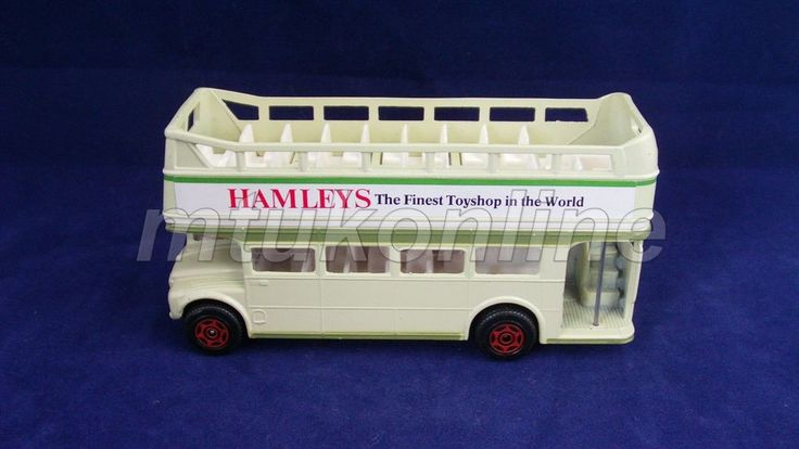 CORGI DOUBLE DECKER BUS | MADE IN GB | HAMLEYS THE FINEST TOYSHOP IN THE WORLD