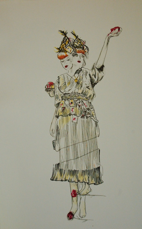 queen of hearts photo lithography , grainne murphy