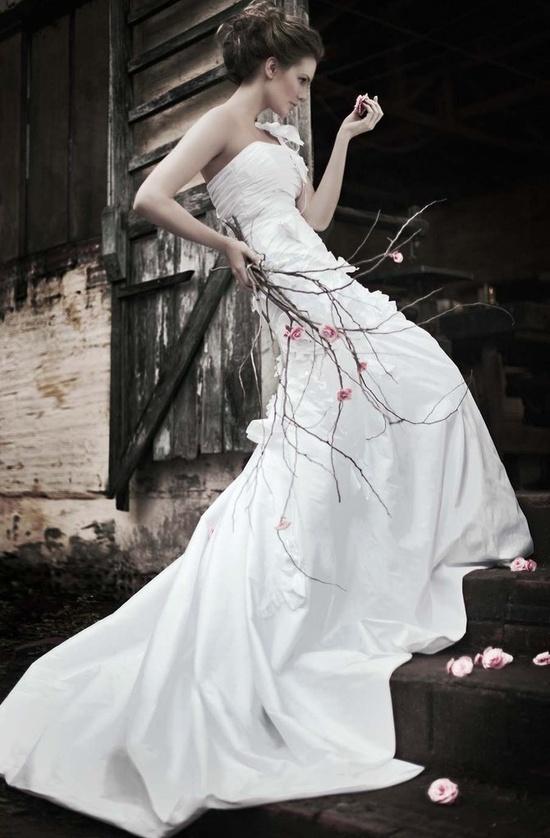 dress in village forest