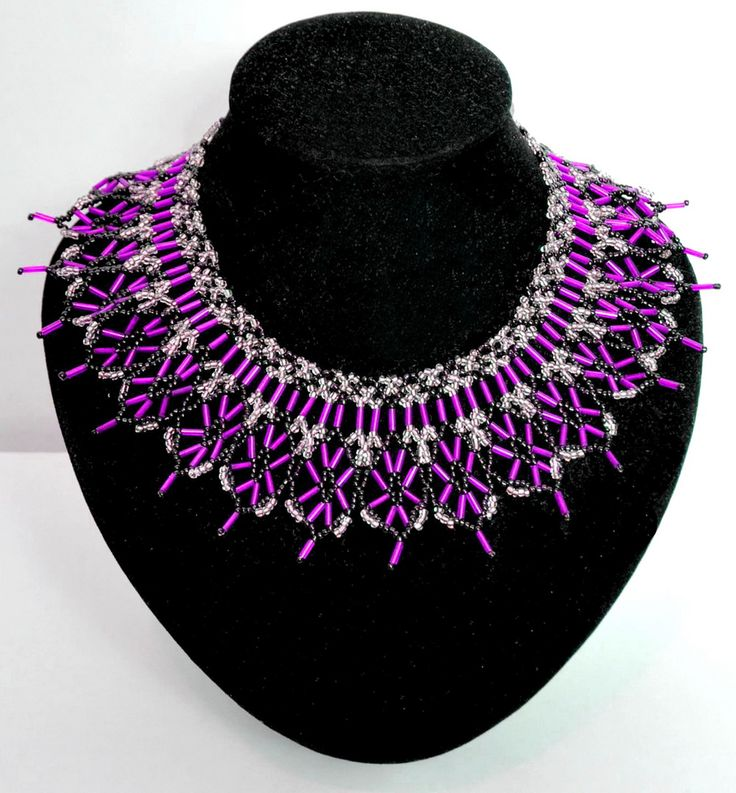239 best Beadwork - FREE necklace patterns images on Pinterest ...