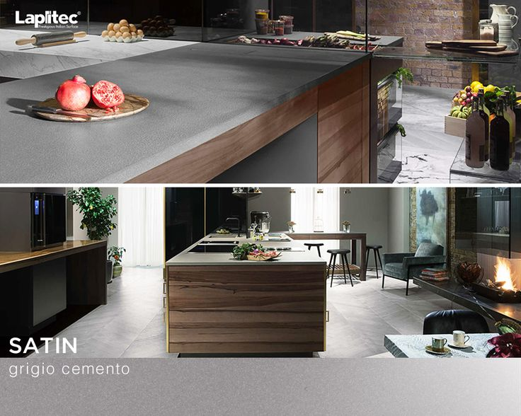 This Waterloo kitchen uses Lapitec® Vesuvio in Ebano to capture both the elegance and the practicality of a world-class kitchen top.