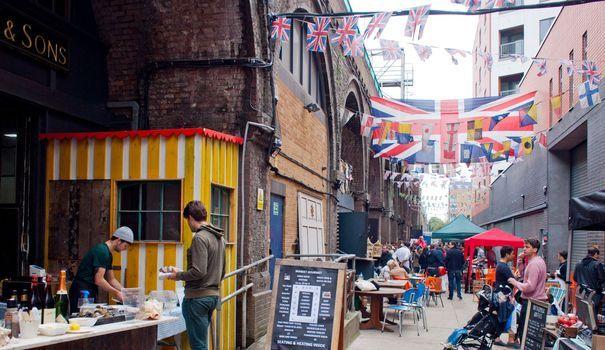 Londres: les meilleurs marchés où manger bon et pas cher