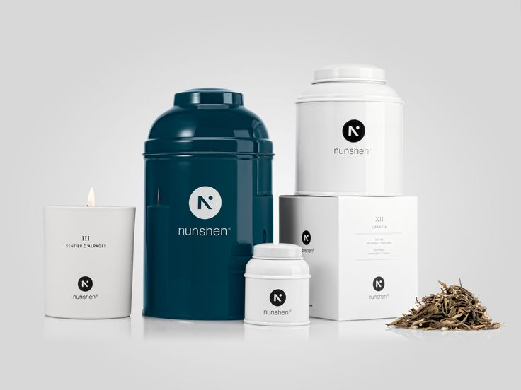 Nunshen by Nicolas Ducret #tea #packaging
