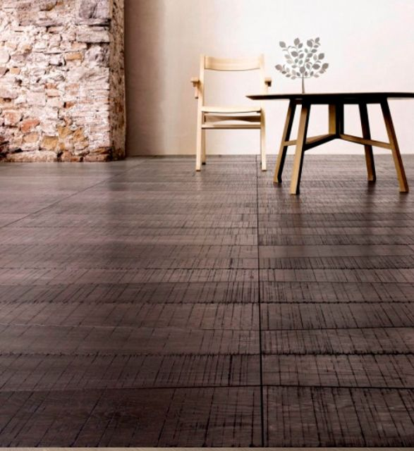 LG Medoc #1  Oak Trapezoide shape - at tuttoparquet.co.uk