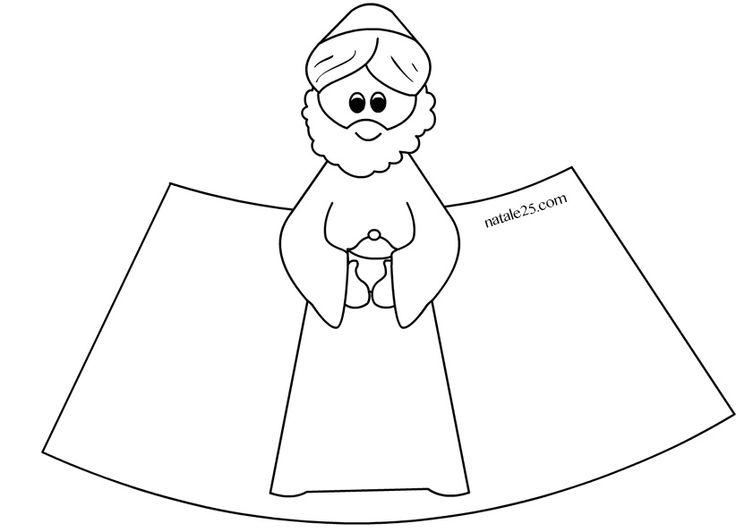 Altro materiale correlatoPresepe 3D da stampare – Re Magio 1Presepe 3D da stampare – Re Magio 2Presepe 3D da stampare – Re Magio 3Presepe di carta in 3D – Re Magio 2Presepe di carta in 3D – Re Magio 1Presepe di carta – San GiuseppePresepe di carta da ritagliare 1Presepe di carta – Madonna con …