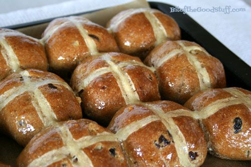 Wholemeal Hot Cross Buns (Vegan / Dairy Free / Egg Free)