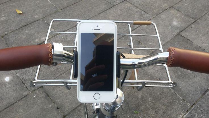 AVANTEK Support Téléphone Vélo à rotation 360 dégrés Pince Robuste Sangle en Silicone Bouton de Verrouillage pour Smartphone GPS