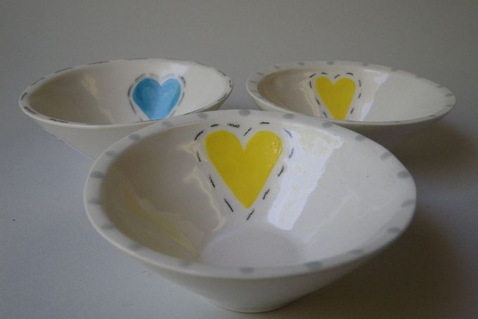 Love Bowls by Ck-ramics Pottery Studio