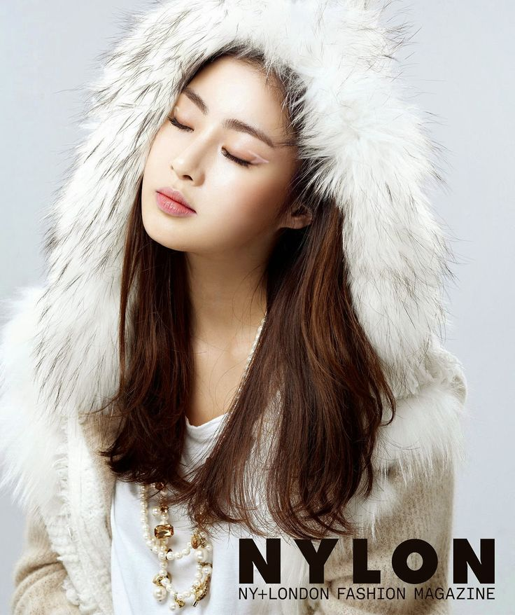 Kang Sora - Nylon Magazine December Issue 2014