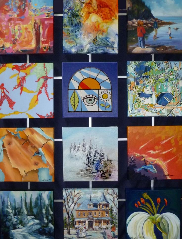 Découvrez la galerie d'art au centre-ville de Rimouski, La Verrière aux images!
