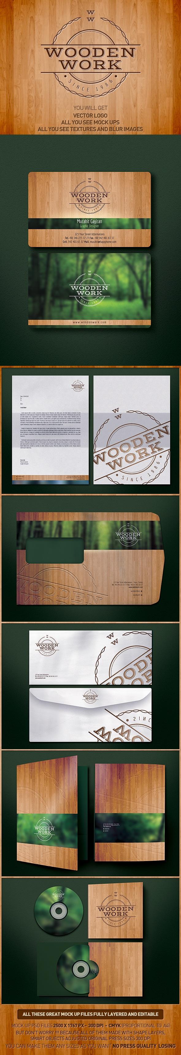 Wooden Work - CI repinned by www.BlickeDeeler.de
