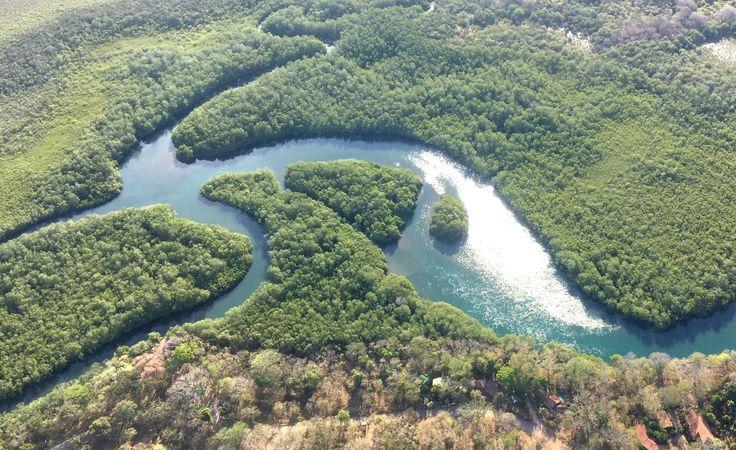 Foto aerea nei dintorni di Tamarindo COSTA RICA