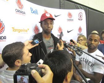 Vaughan's Wiggins key to Canadian Olympic basketball hopes