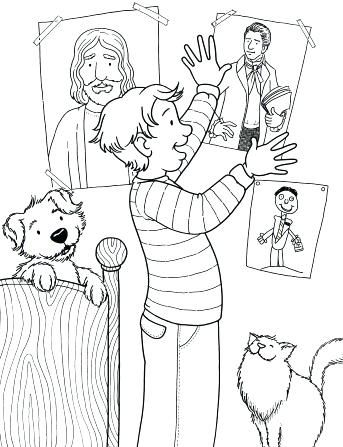 Lds Coloring Page Lds Coloring Pages Fasting Synthesissite