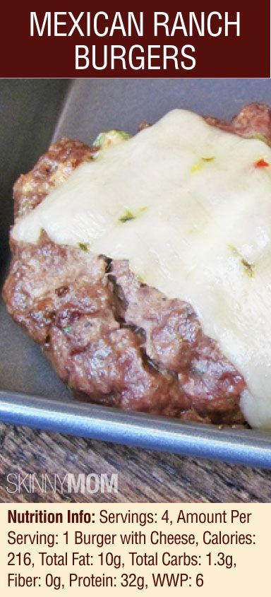 SM's Mexican Ranch Burgers is a tasty and super simple recipe that any burger fans will LOVE! Great flavor with the pepper jack cheese and ranch zest! Great spring/summer recipe!