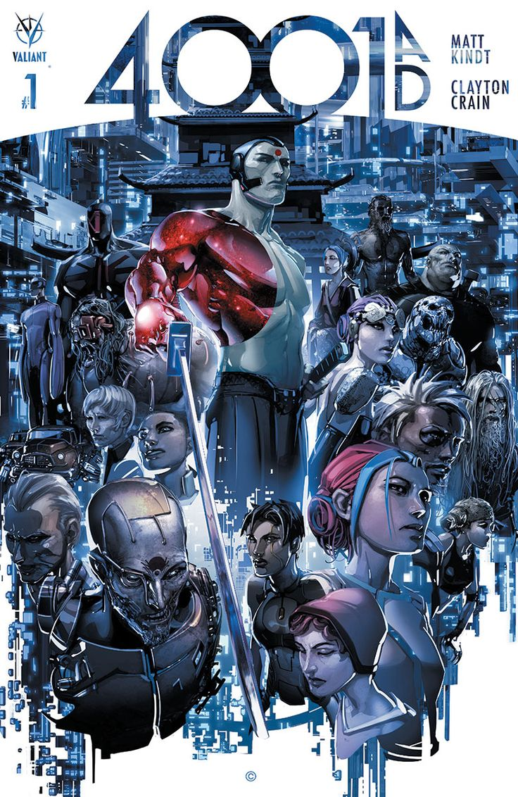 """Valiant Expands """"4001 AD"""" Event with One-Shots, Mystery Character Introduction"""