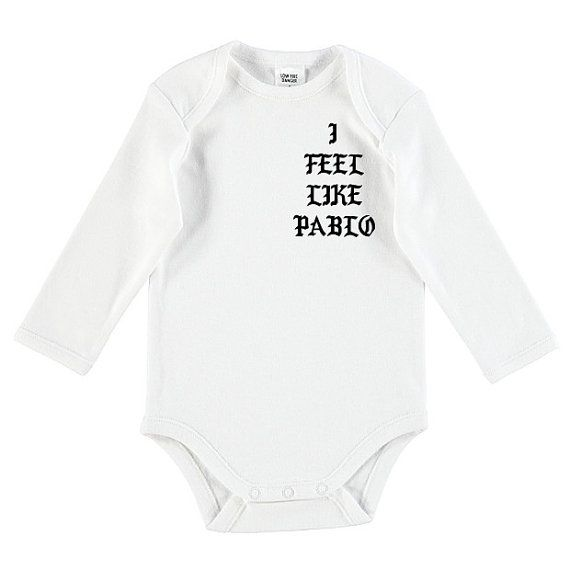 I Feel Like Pablo Baby Onesie by TheUniqueCo on Etsy
