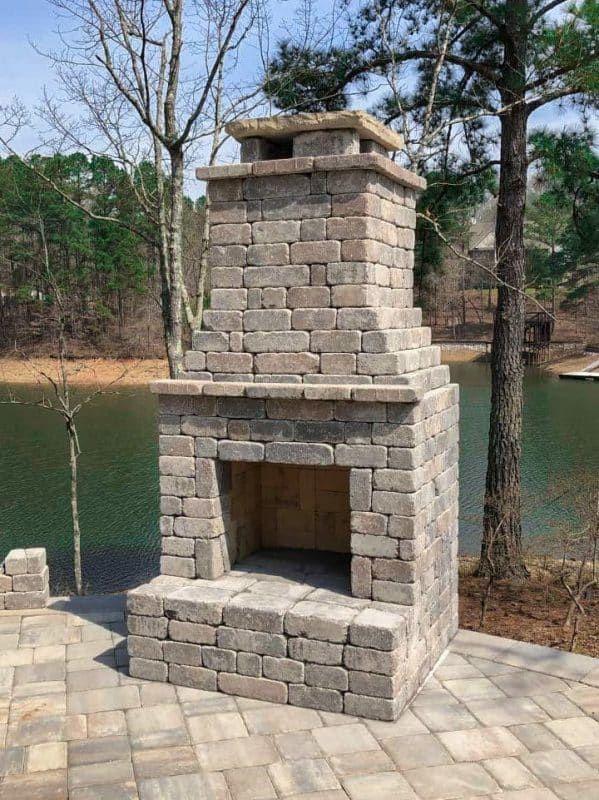 Fremont Fireplace Kit Fireplace Kits Fireplace Diy Outdoor