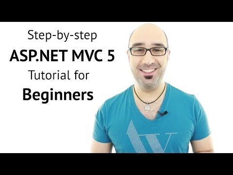 Step-by-step ASP.NET MVC Tutorial for Beginners - YouTube