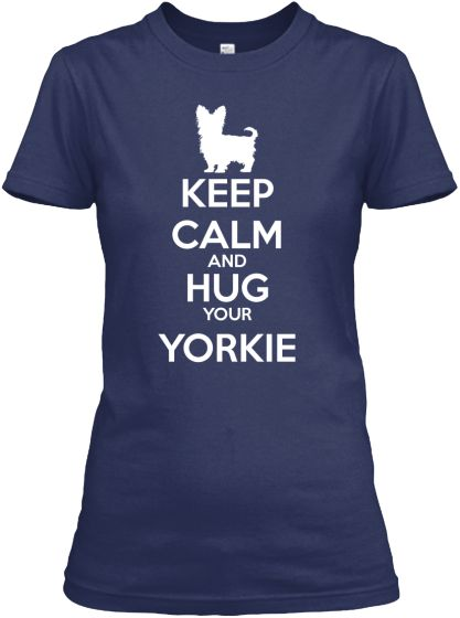 Do you Love a very special Yorkie? If so, this limited edition Yorkie Lover T-Shirt is for you!