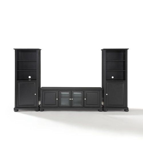 Awesome Low Profile Media Cabinet