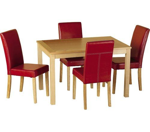 Home Haus Ivana Dining Set With 4 Chairs Dining Room Sets