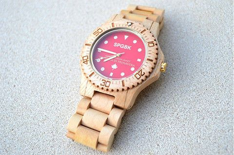 Wooden Hipster Watches : Springbreak Wood Watches