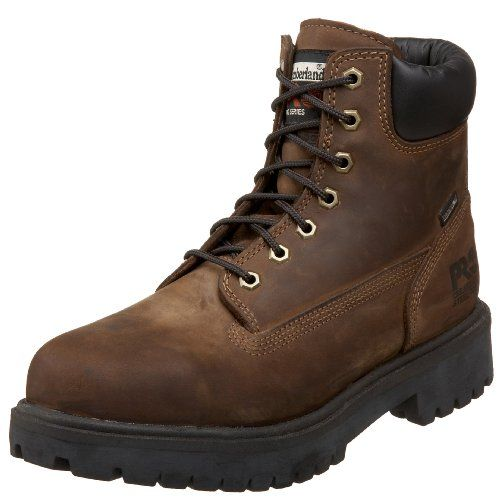 """Timberland PRO Men's 38021 Direct Attach 6"""" Steel-Toe Boot"""