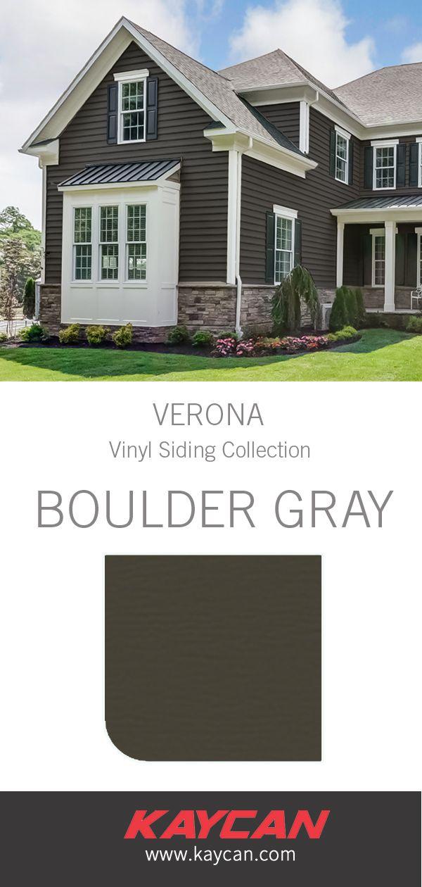 Kaycan Verona Siding Vinyl Siding Grey Vinyl Siding Siding