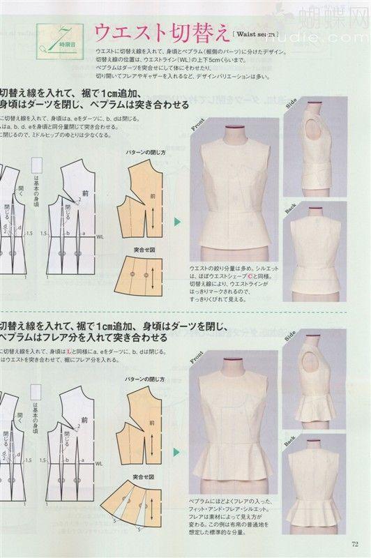 【转载】日本文化服装 2012年春号服装裁剪杂志 - 苹果园的日志 - 网易博客: