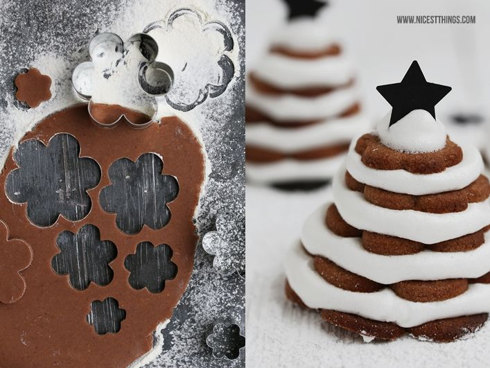 Nicest Things: Cinnamon Cookie Stacked Christmas Trees