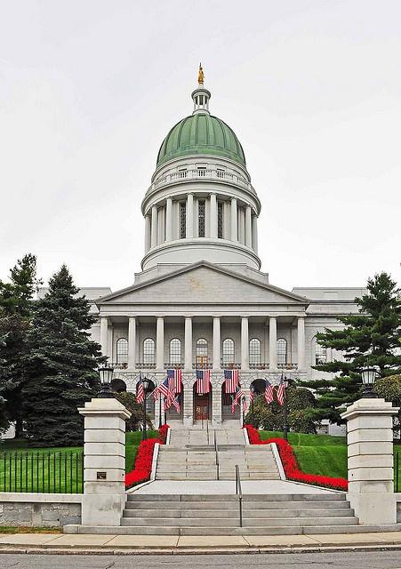 AUGUSTA - Maine State Capital by retrorocketrick, via Flickr