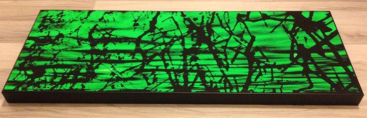 """""""Un albero di nuvole"""" stampa su carta cotone cm 30x80 con cornice."""