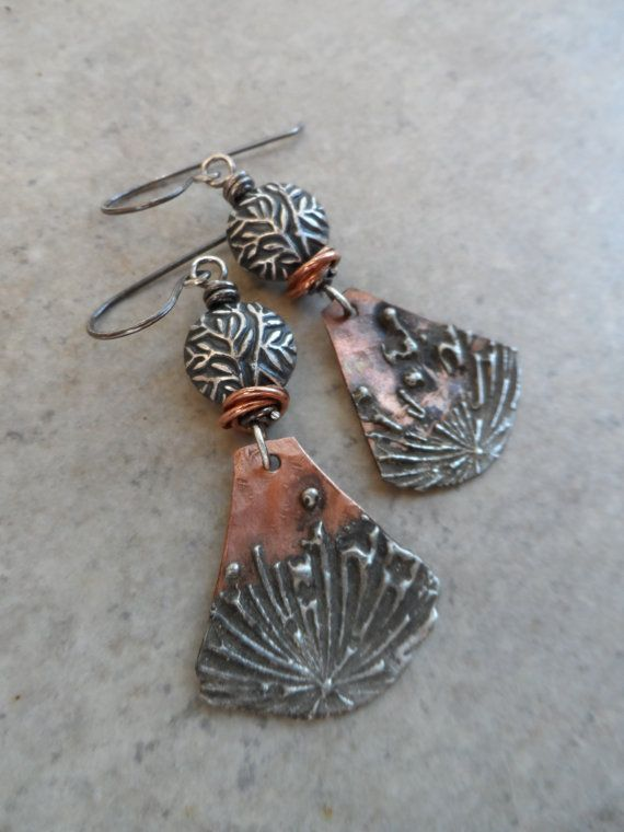 Sealife ... Mixed Metal Copper With Silver Solder by juliethelen