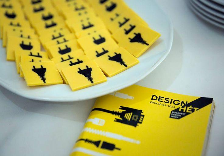 Budapest Design Week 2014 Opening Event  custom chocolate bites