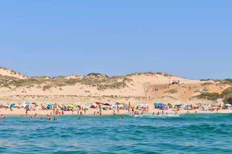 Praia do Malhão- Dunas.