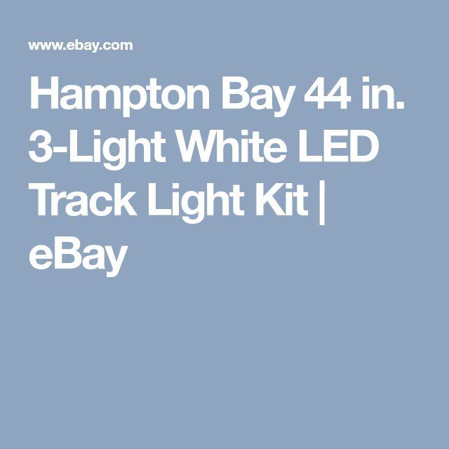 Hampton Bay 44 in. 3-Light White LED Track Light Kit    | eBay