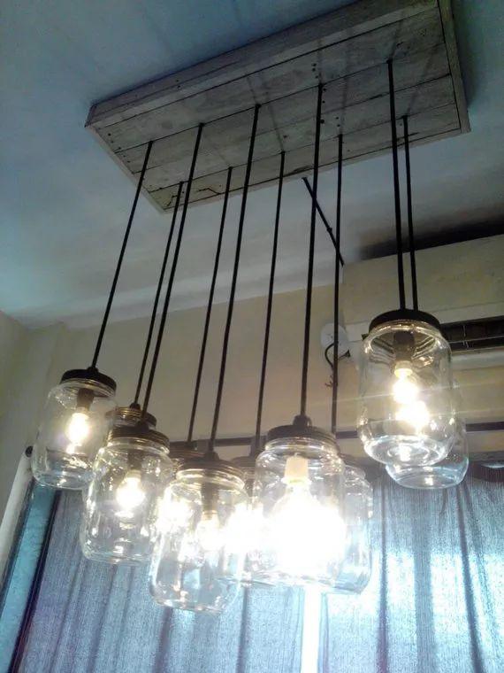 M s de 25 ideas incre bles sobre lamparas de techo for Lamparas cocinas rusticas