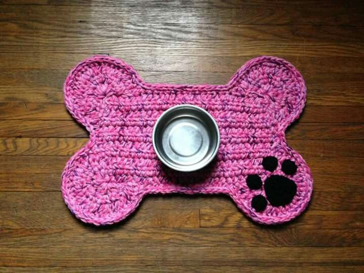 Pin By Sonja On Backbags Cro Knit Crochet Patterns Dog Bone Food Animals