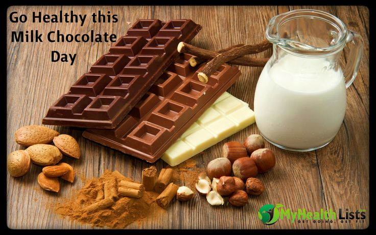 Celebrate this #MilkChocolateDay in a guilt free manner.. Opt for #lowcalorie options without endangering your #health interests.