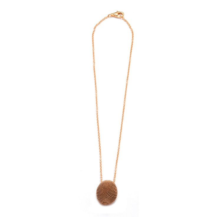 Pesavento Necklaces, Rose Gold, Silver, 2017, One Size