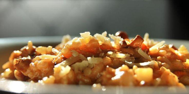 Sopprisotto - Sopprisotto er en høstklassiker. Det er vanskelig å tenke seg denne årstiden uten en god risotto - gjerne på fersk sopp, men tørket fungerer også utmerket.