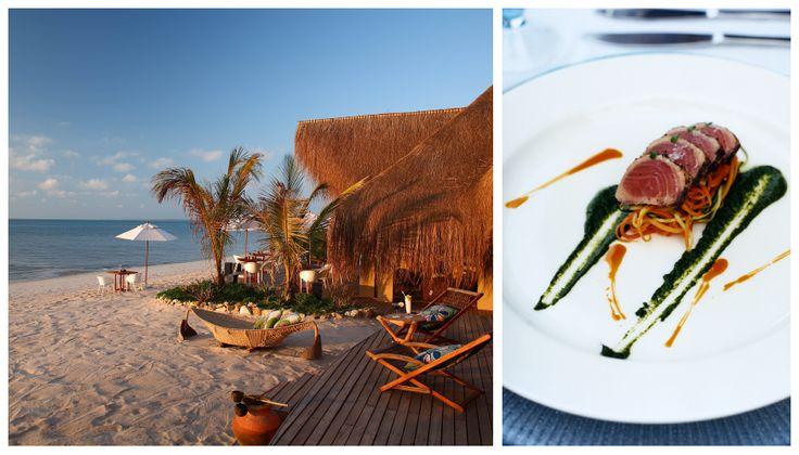 Private dining & personal butler-hosts at Azura Benguerra in #Mozambique. #GourmetAfrica #Africa #travel #beach #food #cuisine #island