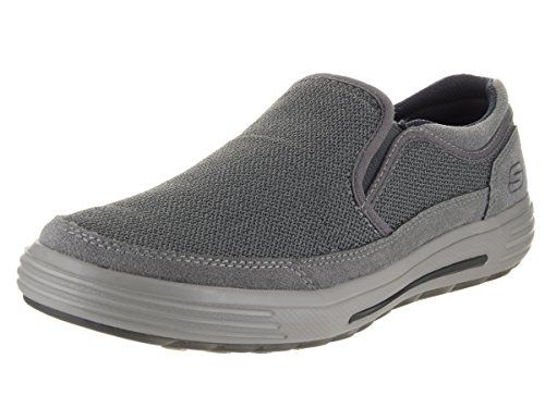 cool Skechers Porter Vesco Mens Slip On Loafers