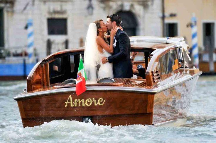 La romántica boda de Álvaro Morata y Alice Campello en Venecia
