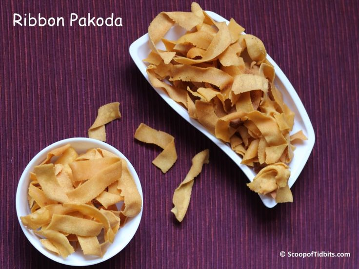Ribbon Pakoda is a famous traditional South Indian savory that is made in most of the households during Diwali. Famously known as Ribbon Pakoda due to its