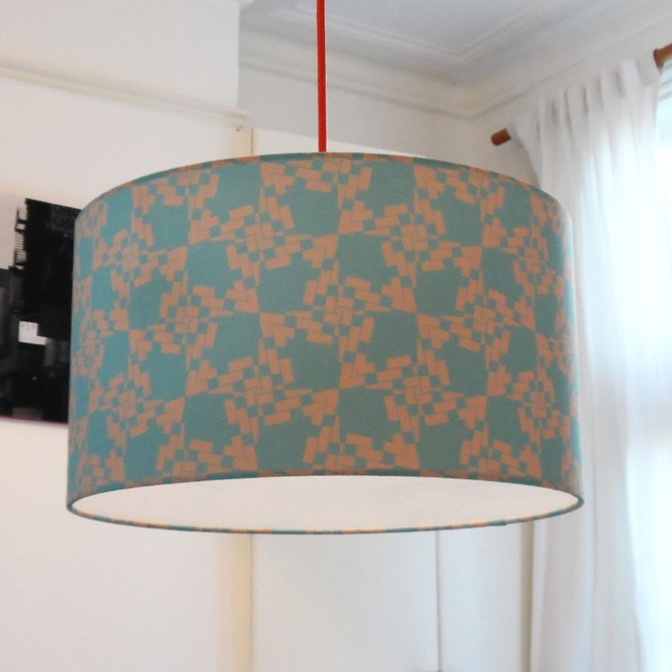 Large Vibrant Fabric Lampshade For The Home  http://www.designedbyruth.co.uk/lampshades/large-vibrant-fabric-lampshade-for-the-home