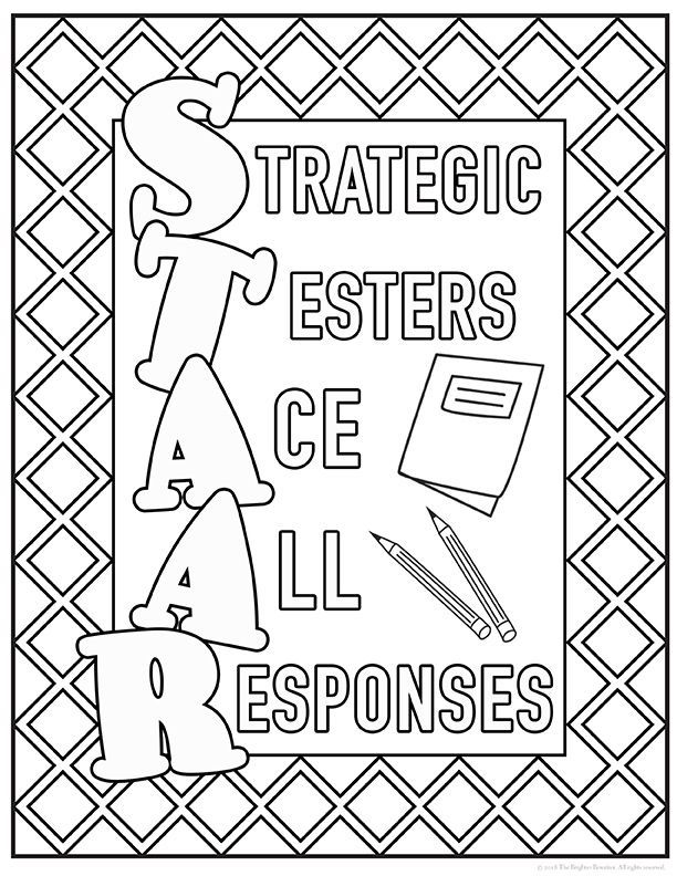 Staar Motivation Signs To Color And Display In Class Or On Your Door During Testing Posters In Color Too Many Choi Testing Motivation Staar Motivation Staar